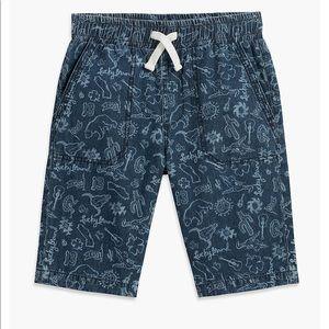 NWT Lucky Brand Aztec print denim shorts , S & M